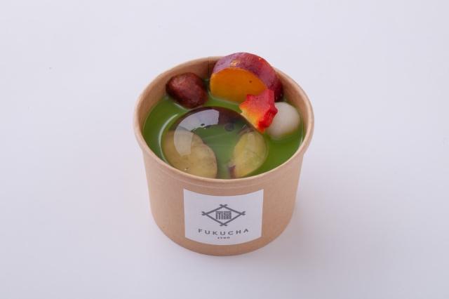FUKUCHA特製 抹茶の糀(こうじ)甘酒しるこ