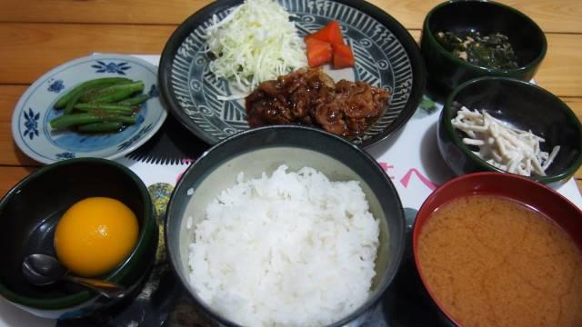 みやま山荘の夕食