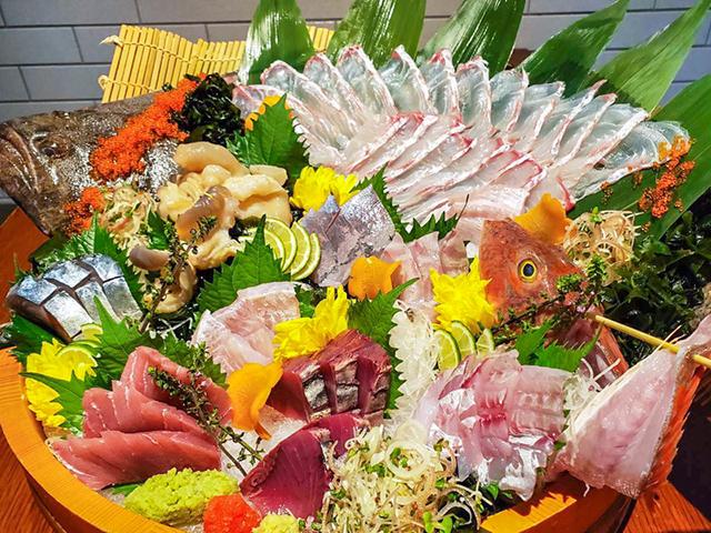 ふくしま常磐ものフェア「魚がし どまん中 神楽坂店」