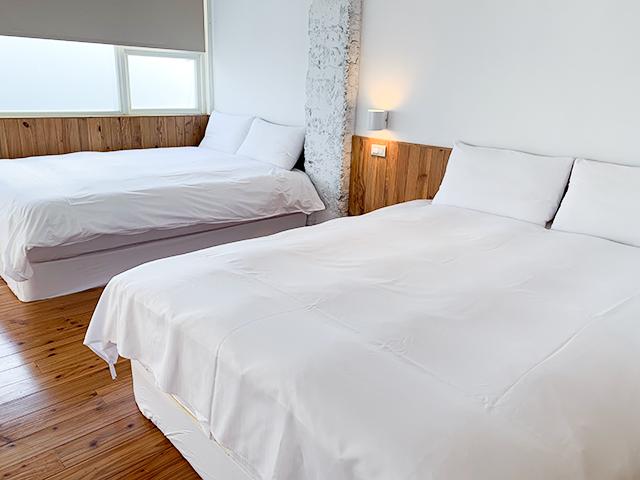 ベッドはキングサイズ!