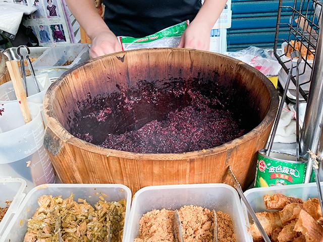 栄養価が高いという紫米