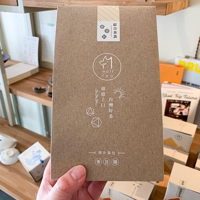 4種類の台湾茶が入ったティーバッグセット