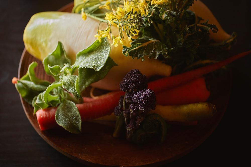 朝食喜心 京野菜