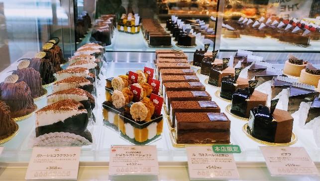 ショコラティエ マサール 本店ケーキ