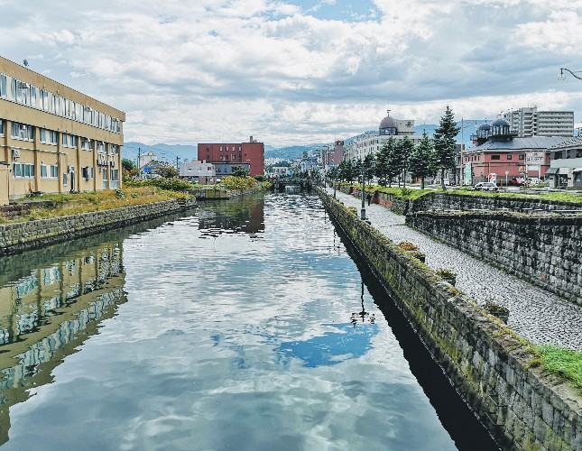 小樽運河ゆらぐ運河