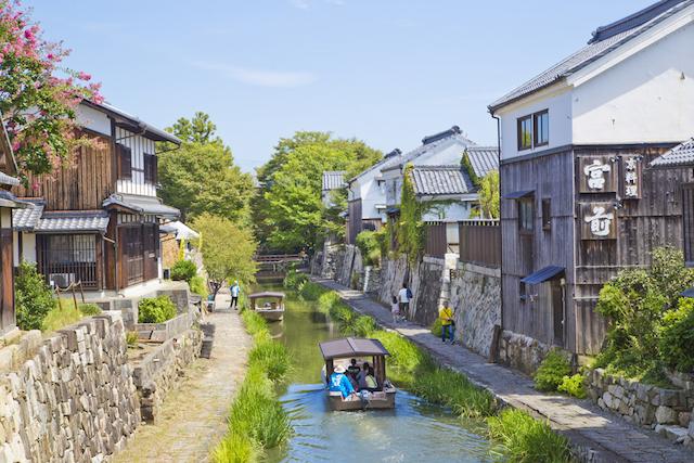 歴史を感じさせる近江商人の町!情緒ある八幡堀を散策しよう
