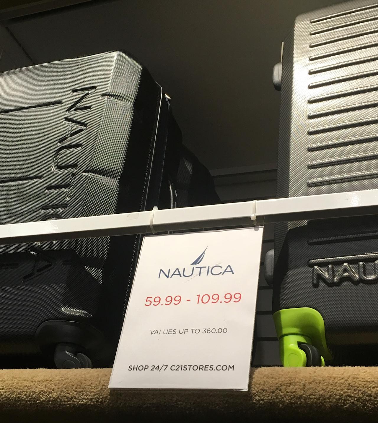 ノーティカ スーツケース