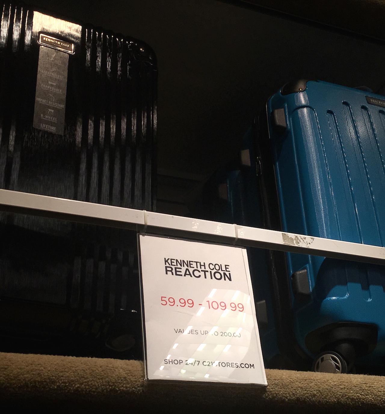 ケネス・コール スーツケース