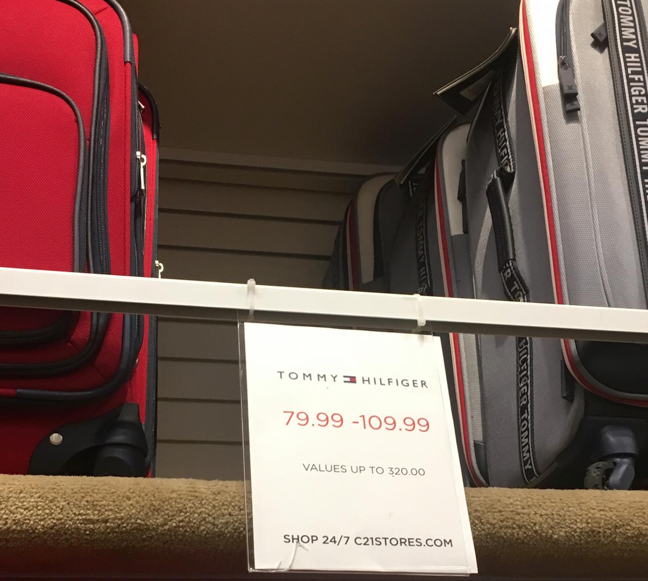 トミー・ヒルフィガー スーツケース