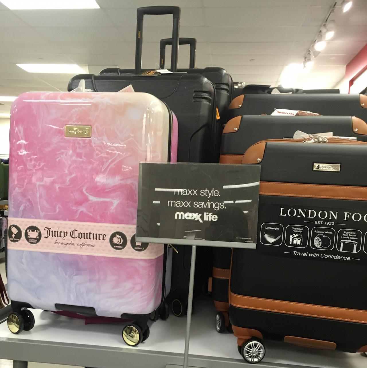 ジューシー・クチュール ロンドンフォグ スーツケース