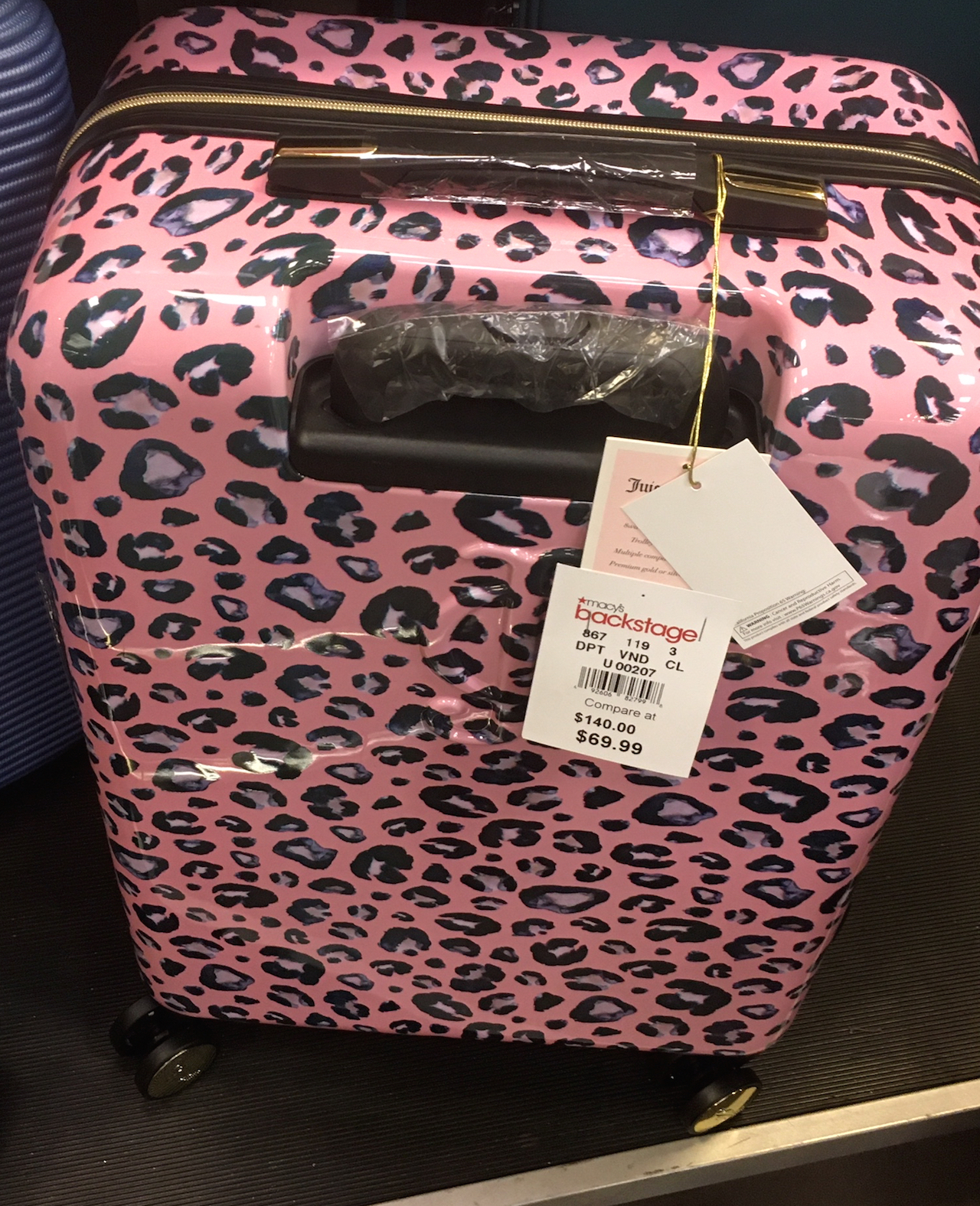 ジューシー・クチュール スーツケース