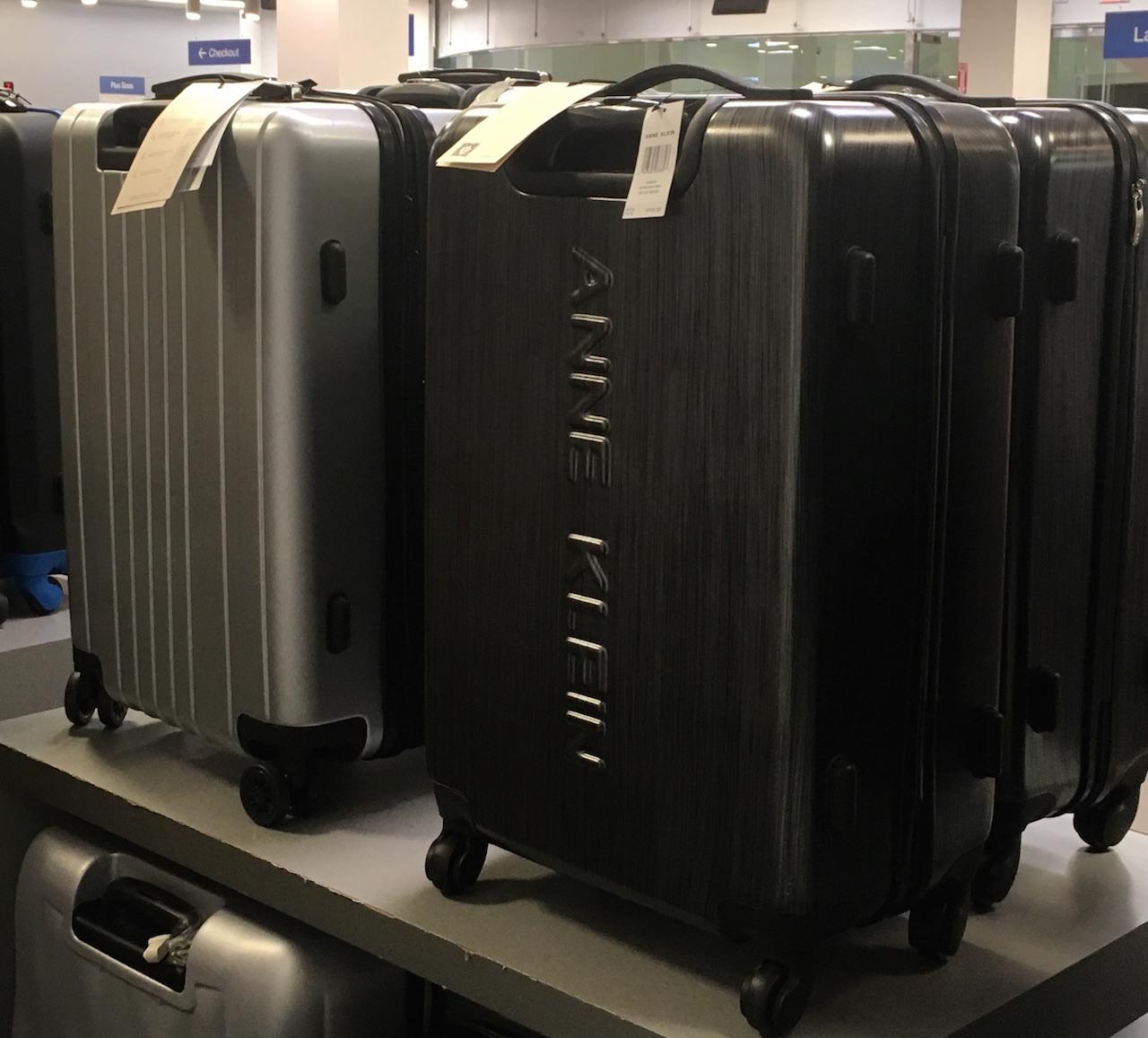 アン・クライン スーツケース1