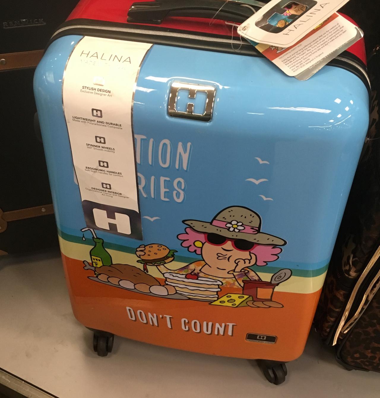 バケーション柄 スーツケース