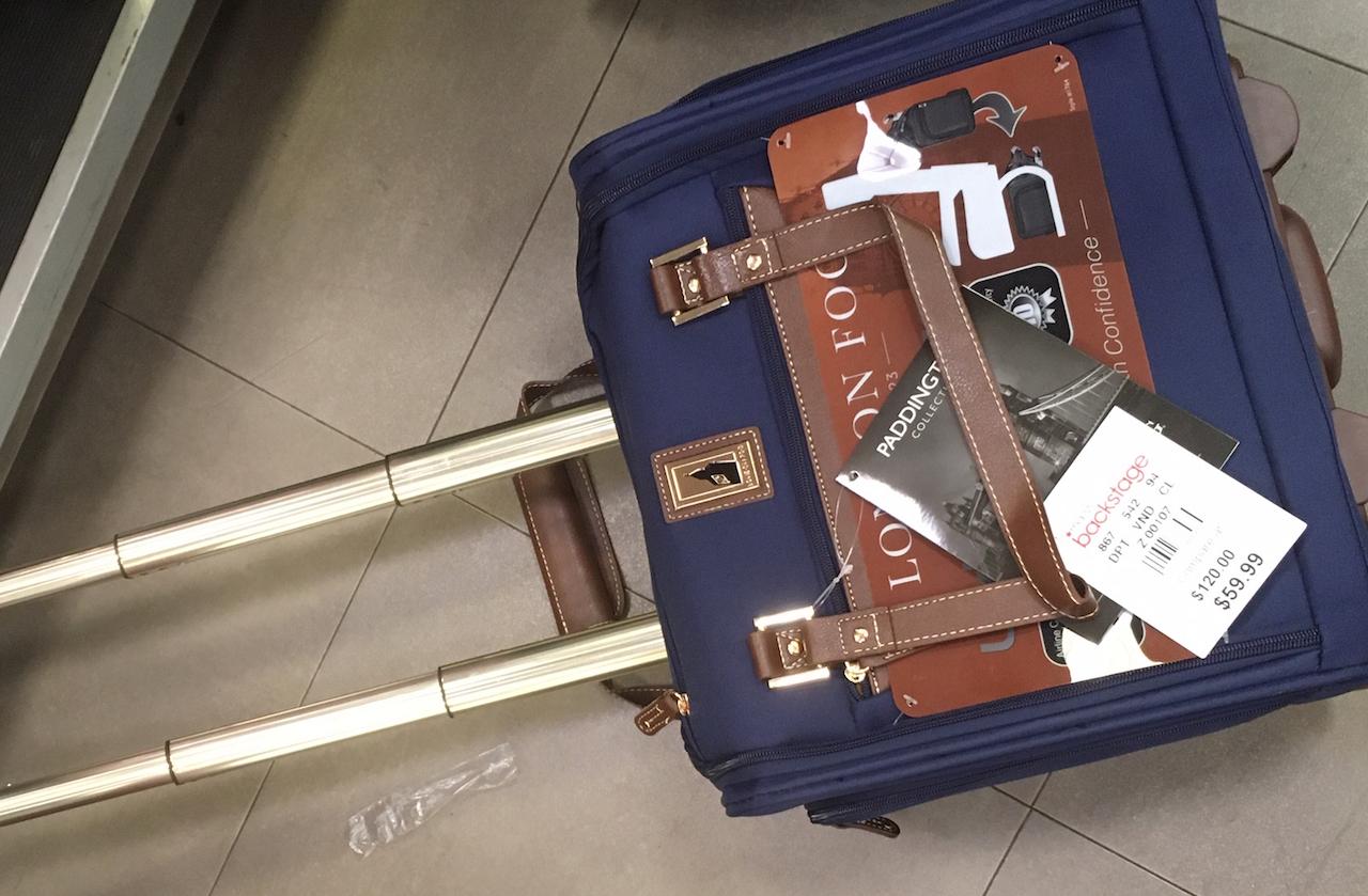 ロンドンフォグ スーツケース アンダーシート