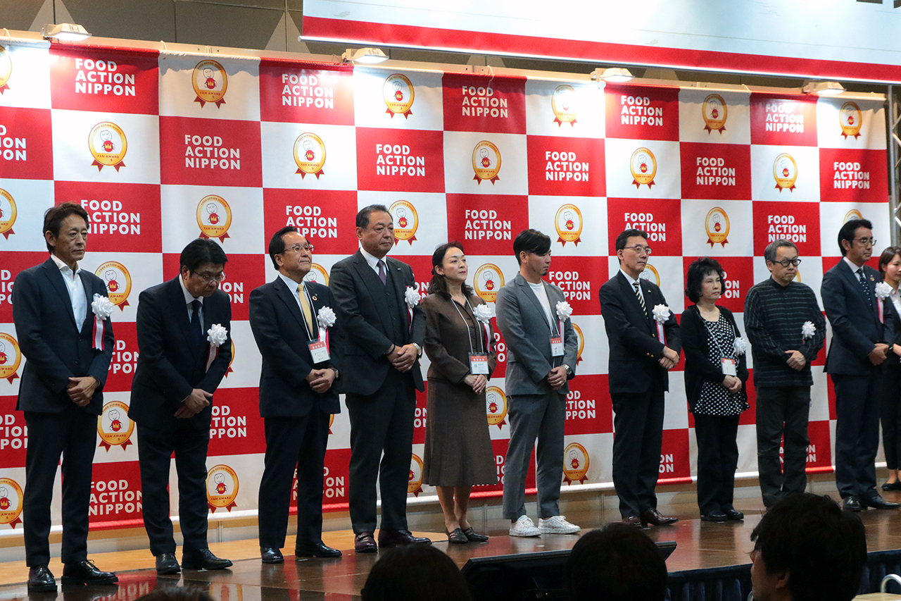 審査委員10社の企業代表
