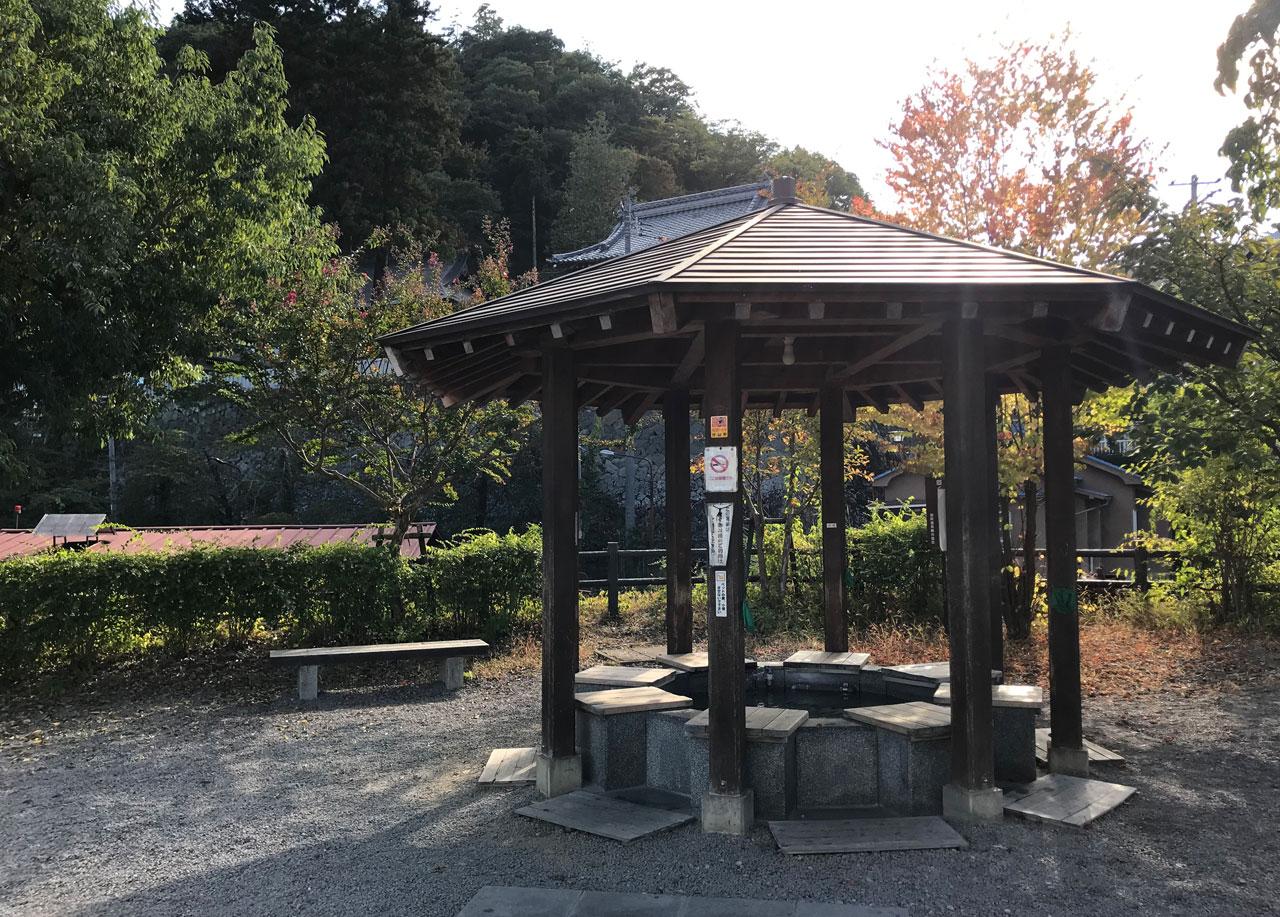 足湯ななくり外観(c)sakurako