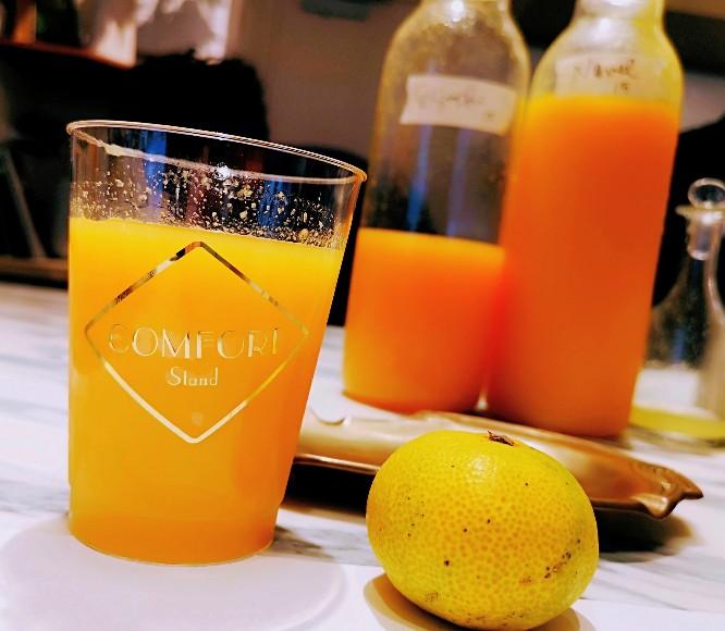 COMFORT STANDシーズナルブレンドオレンジジュース
