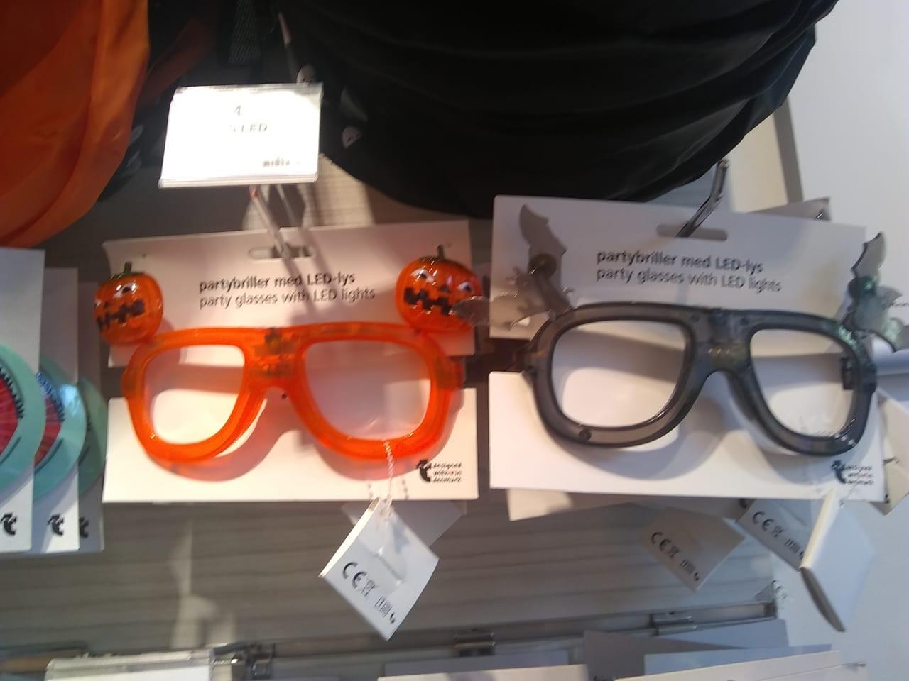 ハロウィーン使用のパーティ眼鏡