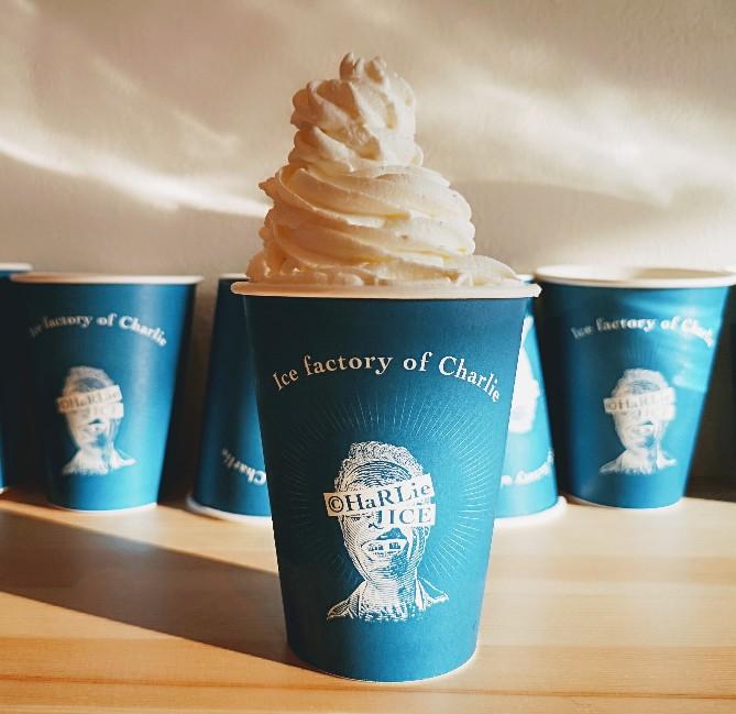チャーリーのアイス工場プレーンパルフェ