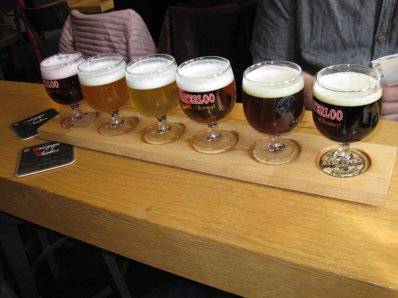 ビール飲み比べ