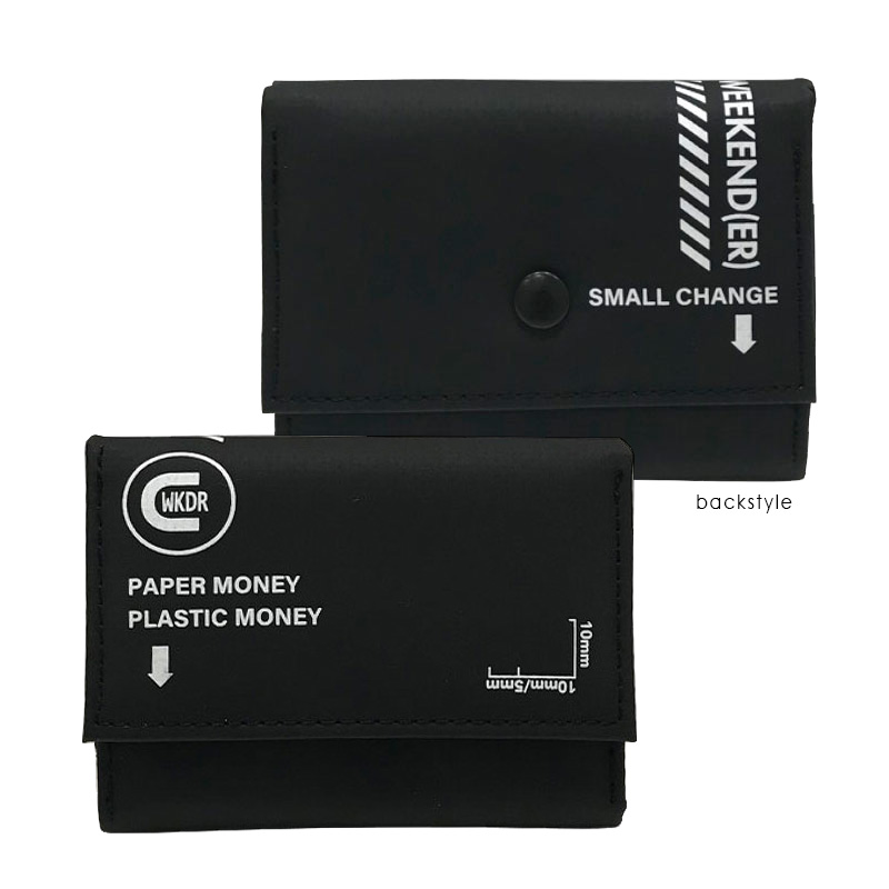 coruri CAMPER 小型財布 ブラック