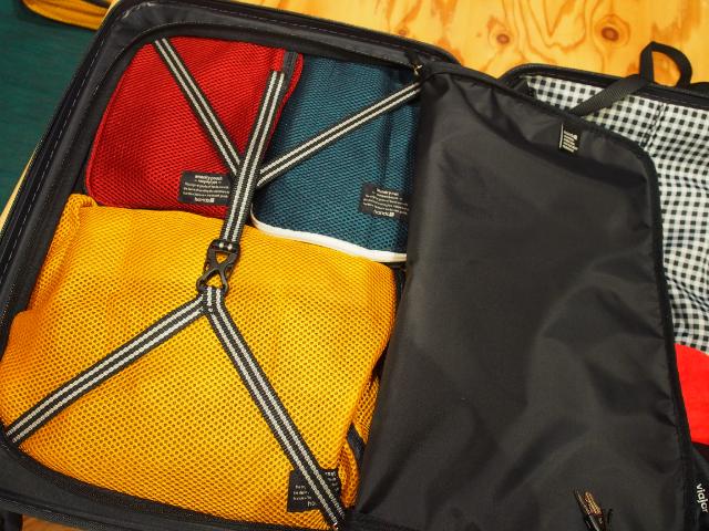 スーツケースの伝道師パッキング術