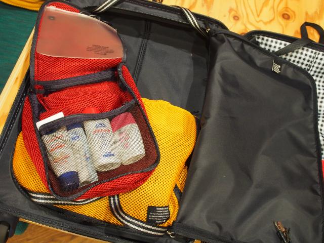 スーツケースの伝道師パッキング術7