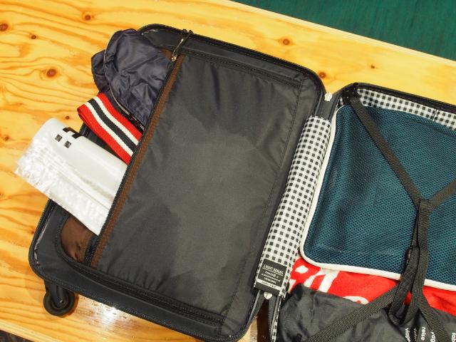 スーツケースの伝道師パッキング術9