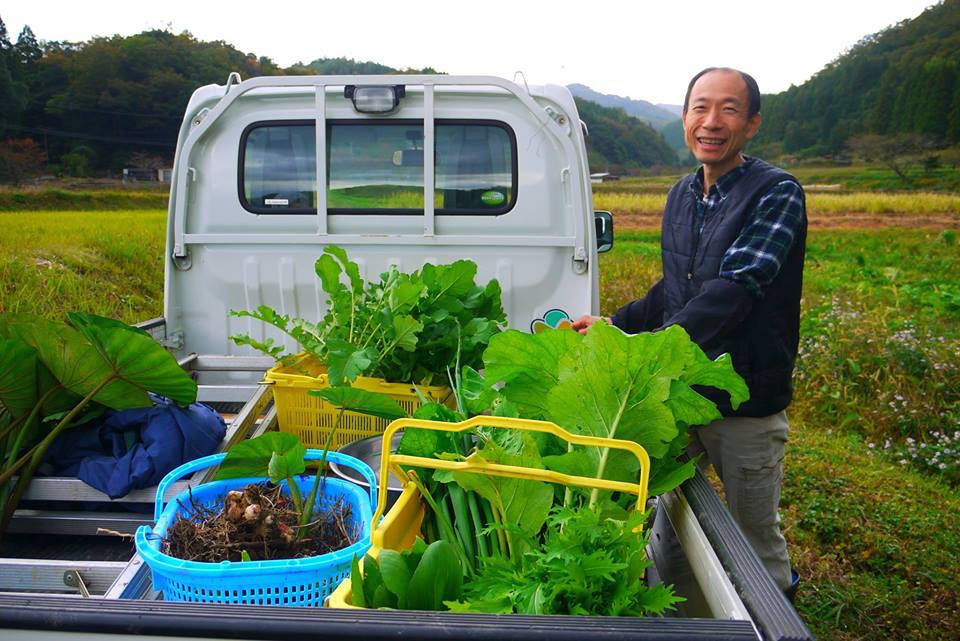 前田さんの自然農ごはん&ツワノ自然農塾1
