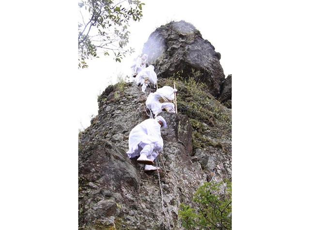 六郷満山の峯入りの道「天念寺耶馬」