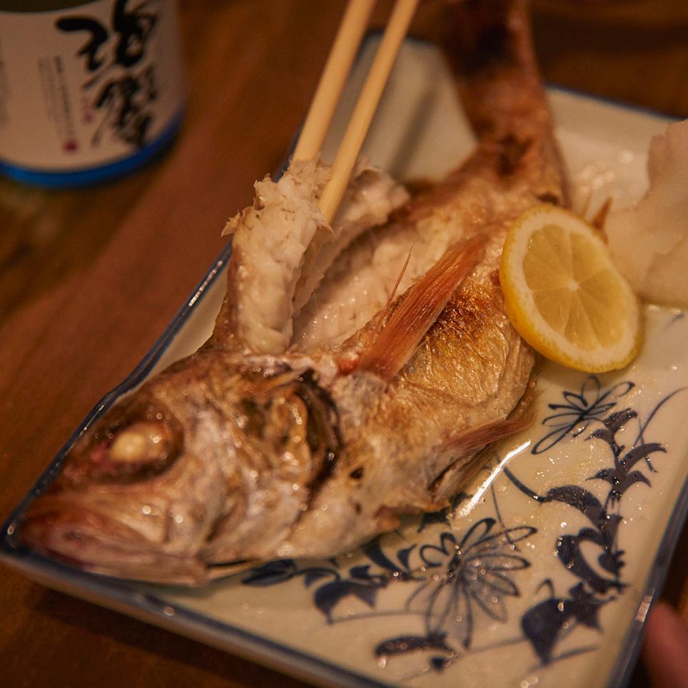まんなおし ノドグロ 焼き魚