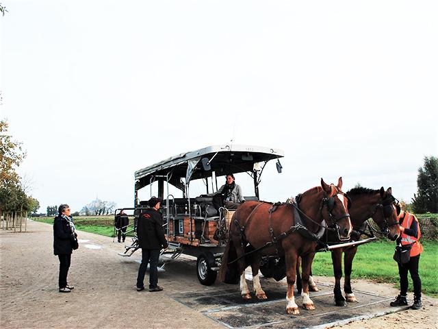 モン・サン・ミッシェルまでの道のり「馬車」を使う5つの利点
