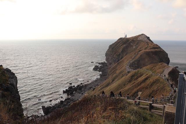 神威岬 全貌