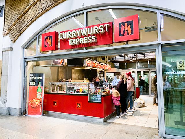 「Currywurst Express」