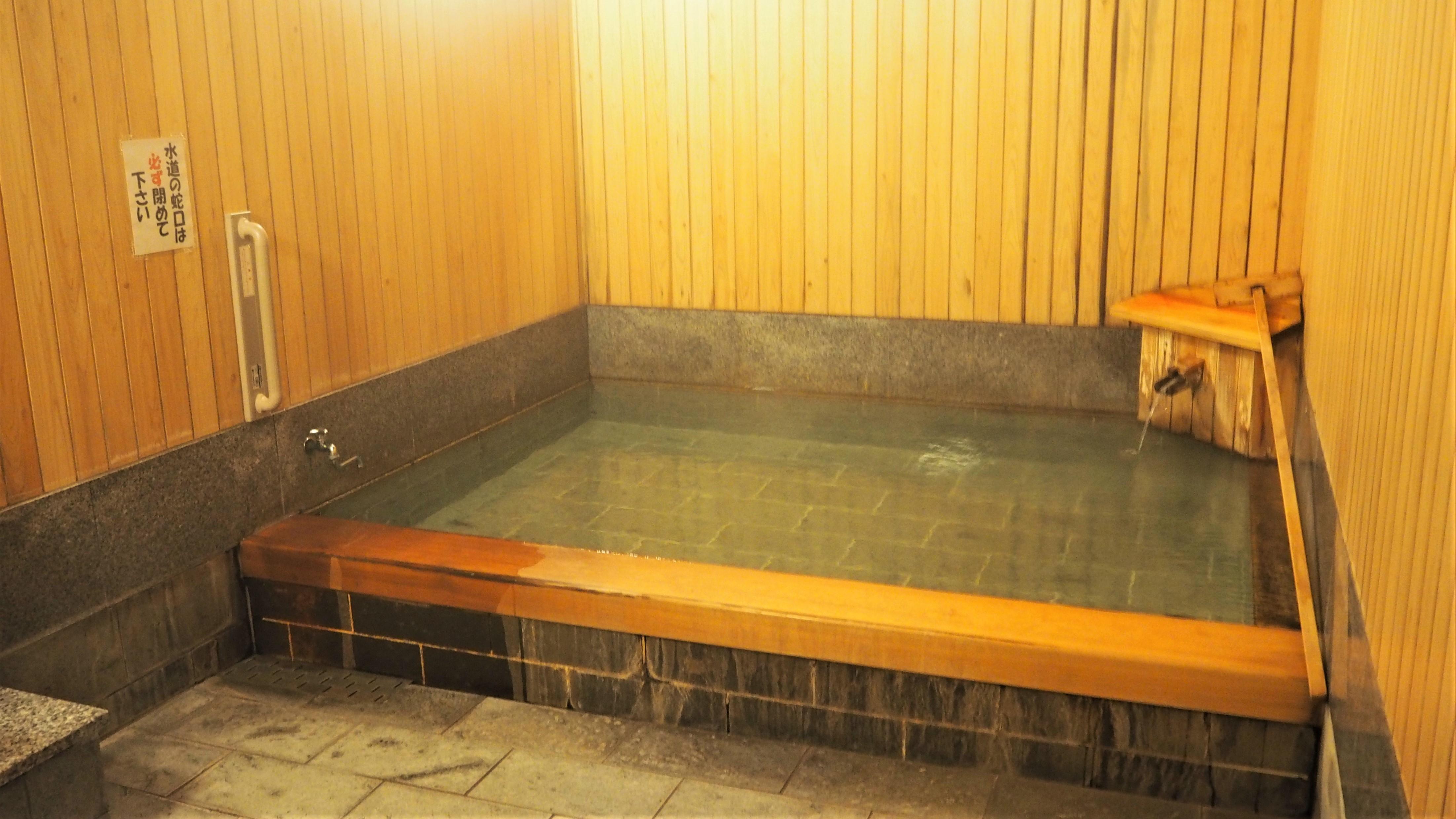 1階の風呂