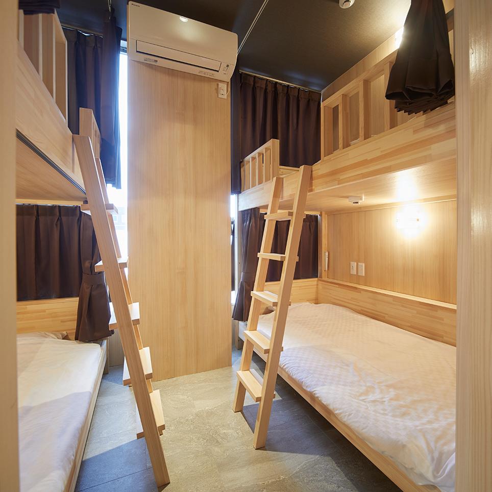 奈良の森ホテル ドミトリー