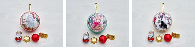 カファレル(Caffarel)「クリスマスコレクション2019」オーナメント缶