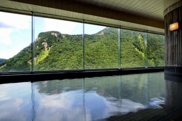 層雲峡温泉 内風呂