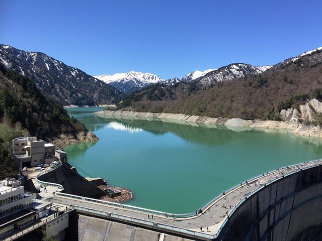 「旅好きが選ぶ日本人に人気の無料観光スポット」黒部ダム