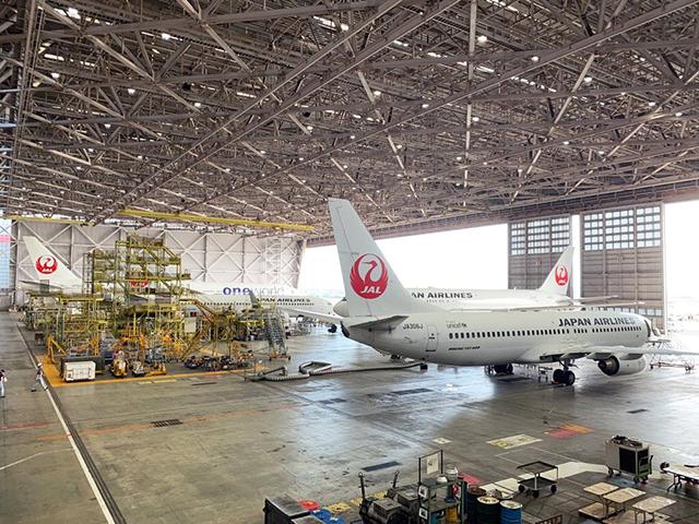 「旅好きが選ぶ日本人に人気の無料観光スポット」JAL工場見学 Sky Museum