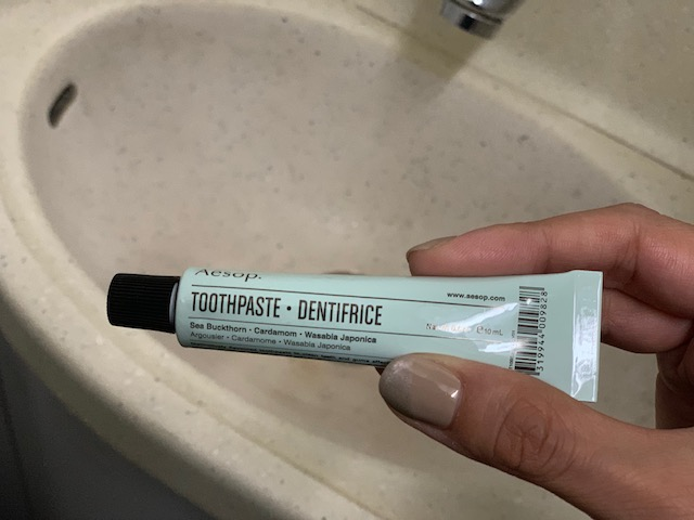 歯磨き粉「イソップ トゥースペースト 10mL」