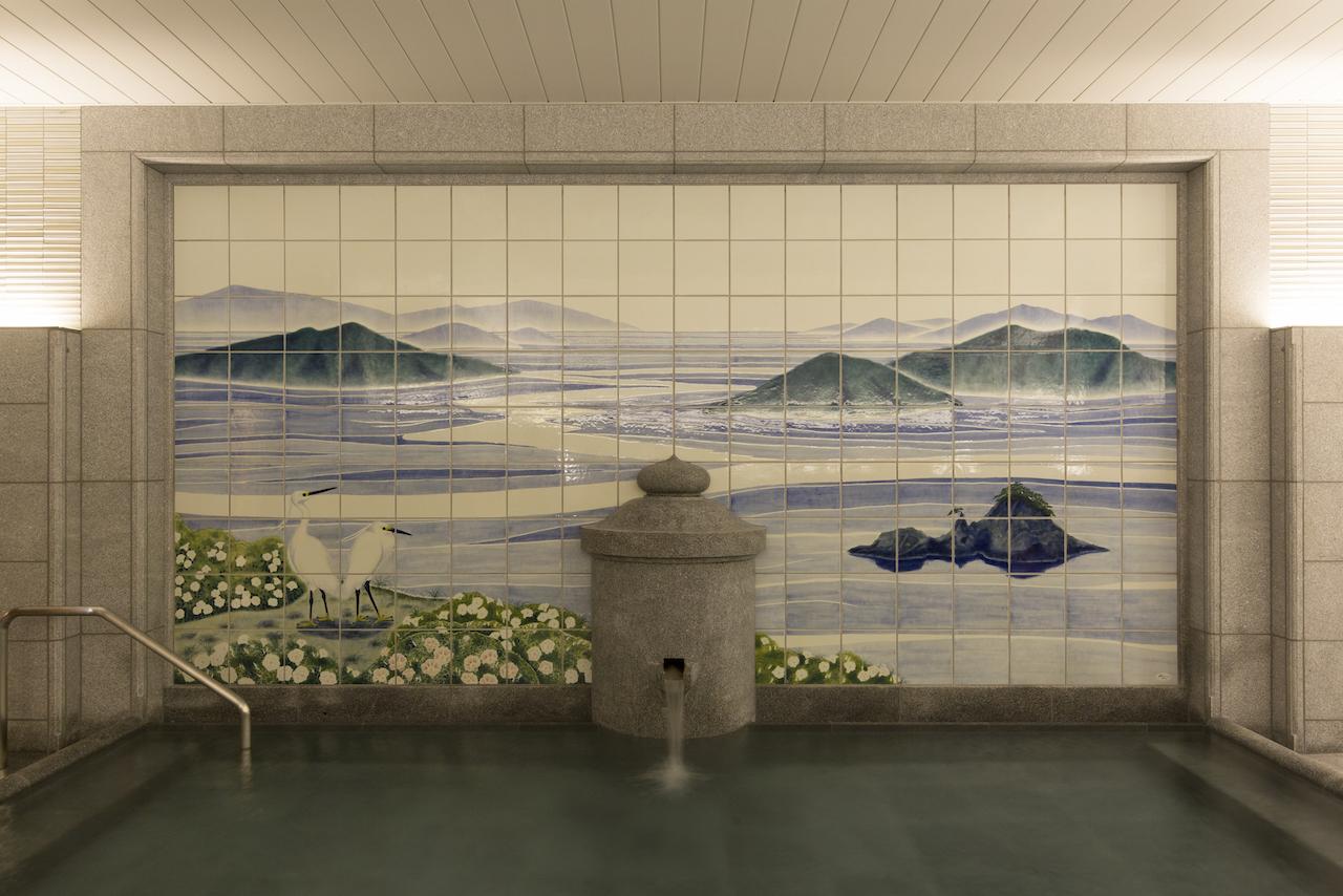 道後温泉別館 飛鳥乃湯 女性用浴室