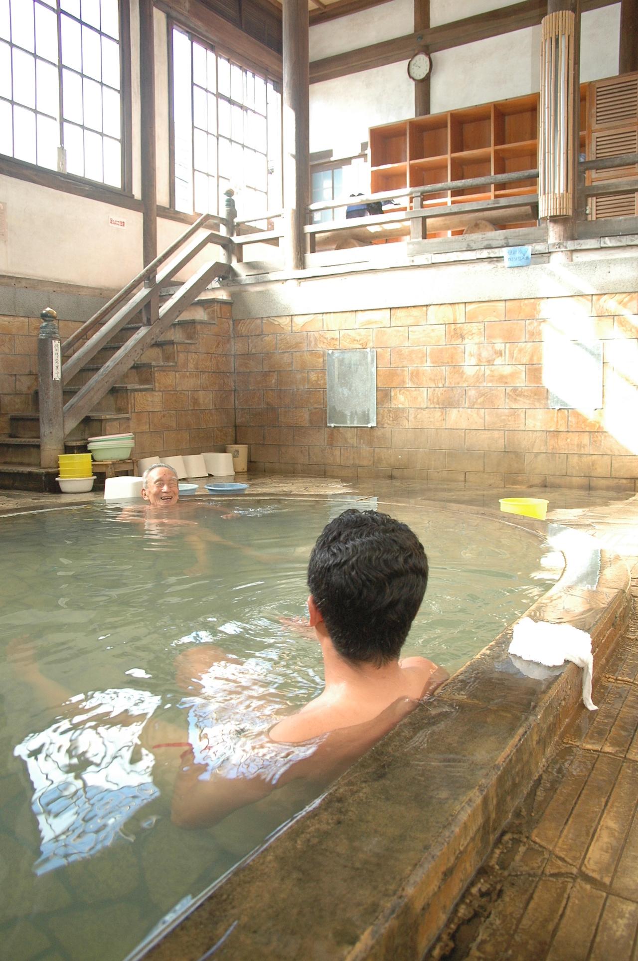 市営竹瓦温泉 温泉