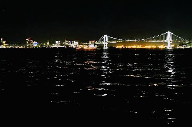 竹芝客船ターミナル夜景