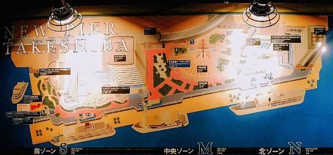 竹芝客船ターミナル地図