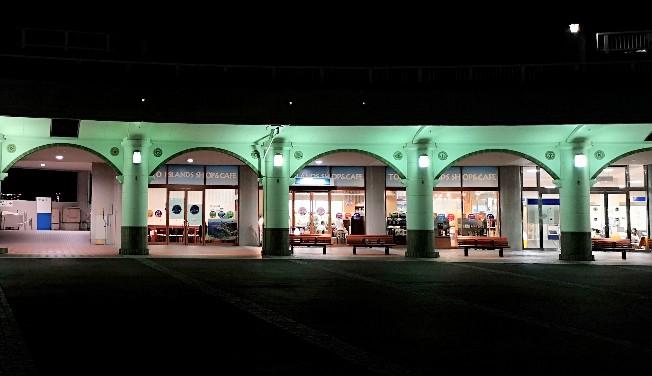 竹芝客船ターミナル 1階ターミナル