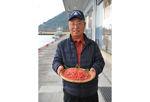 静岡市「日本唯一「桜えび漁」」