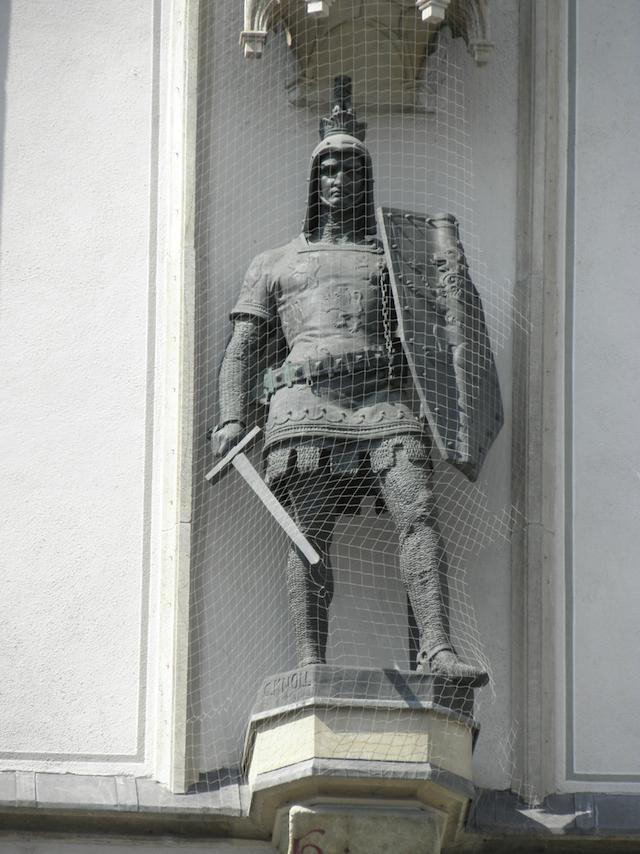 旧市庁舎のハインリッヒ獅子王