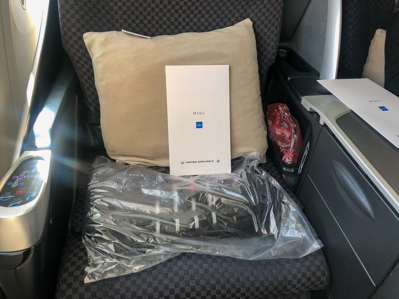 JAL飛行機機内3