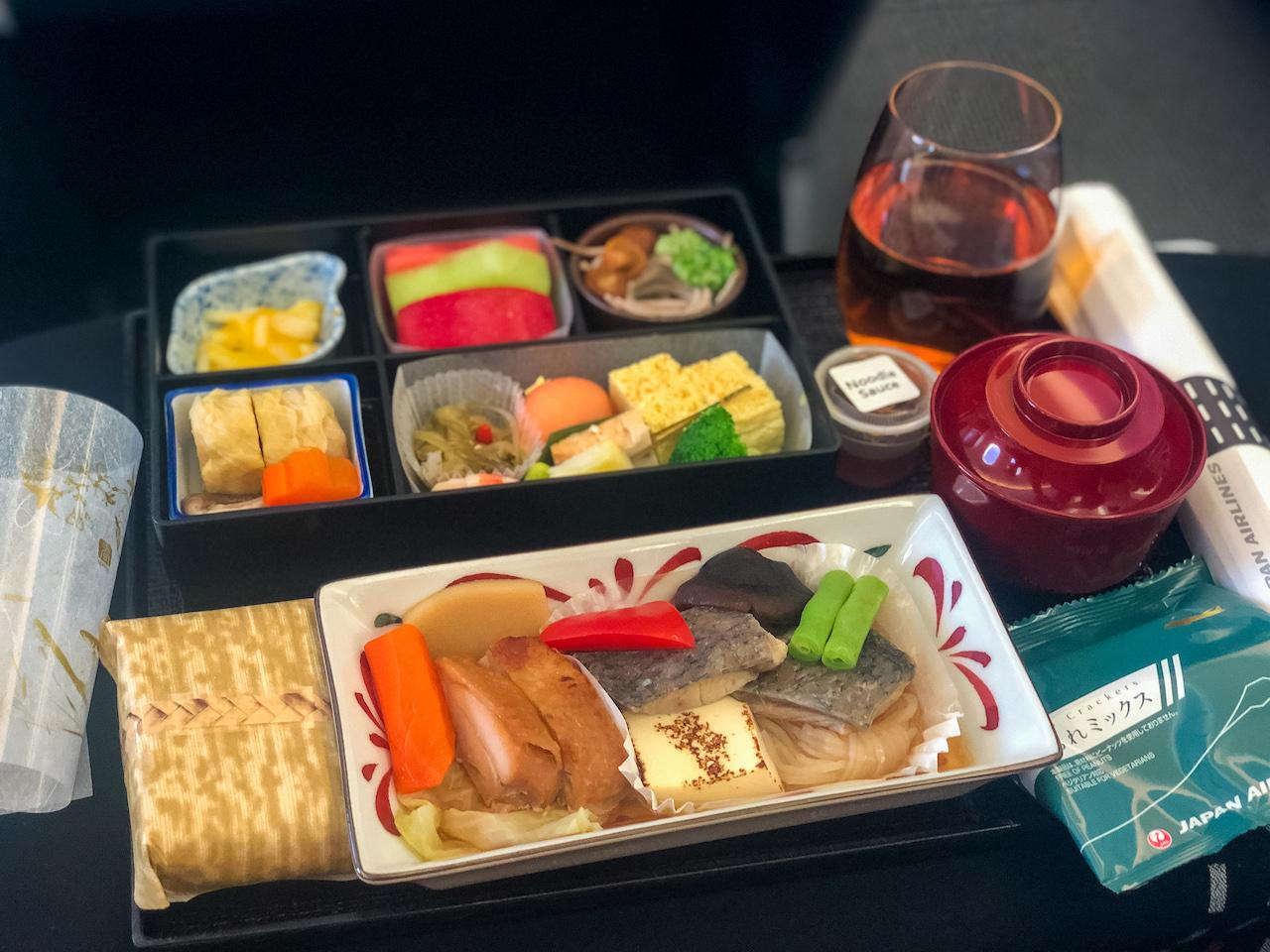 JAL機内食4